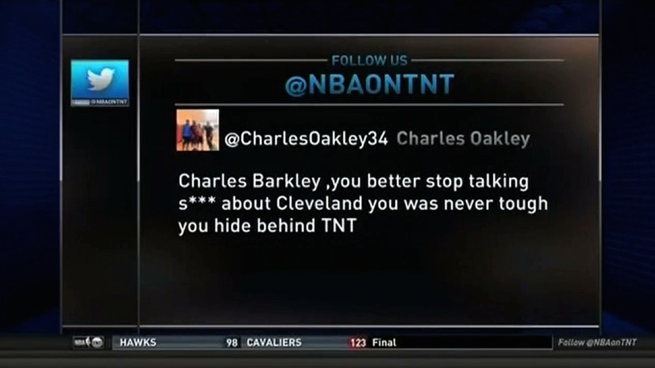 "Charles Oakley is Not Having Any of Charles Barkley's ""Tough"" Talk"