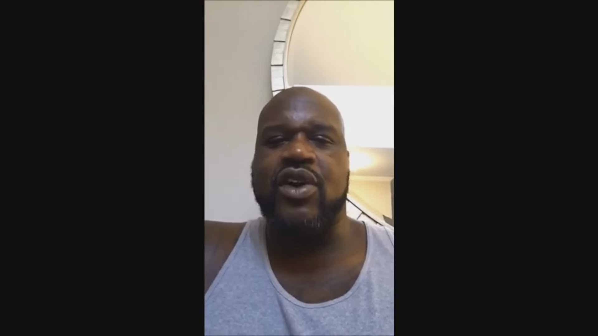 Shaq, the world's biggest Northampton Town fan, has a message for the team