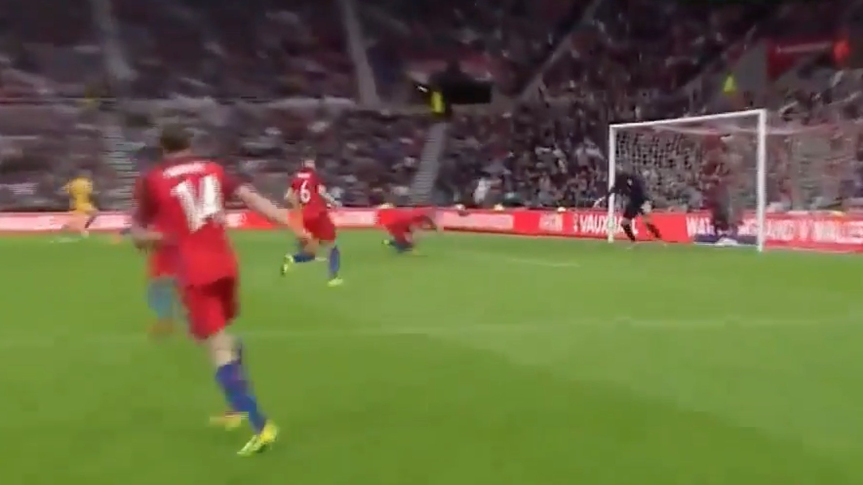Englishman Eric Dier Scores Spectacular Diving Header—On His Own Goal