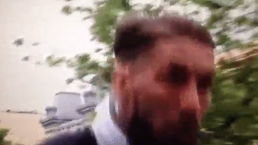 Sergio Ramos Kinda, Sorta Nearly Decapitated by Tree on Champions Bus Ride