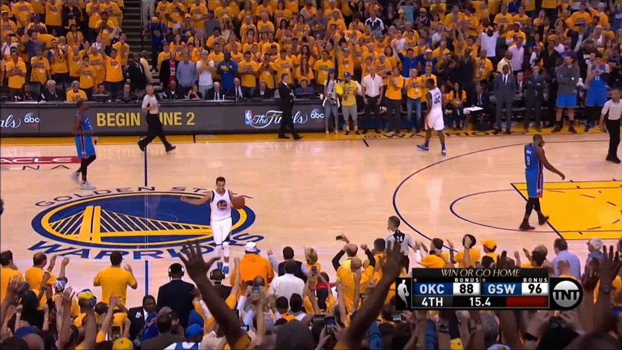 Warriors Complete Comeback, Beat Thunder in Game 7