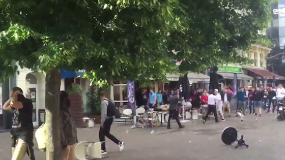 Violence Between Russia and England Continues in France During Euro 2016