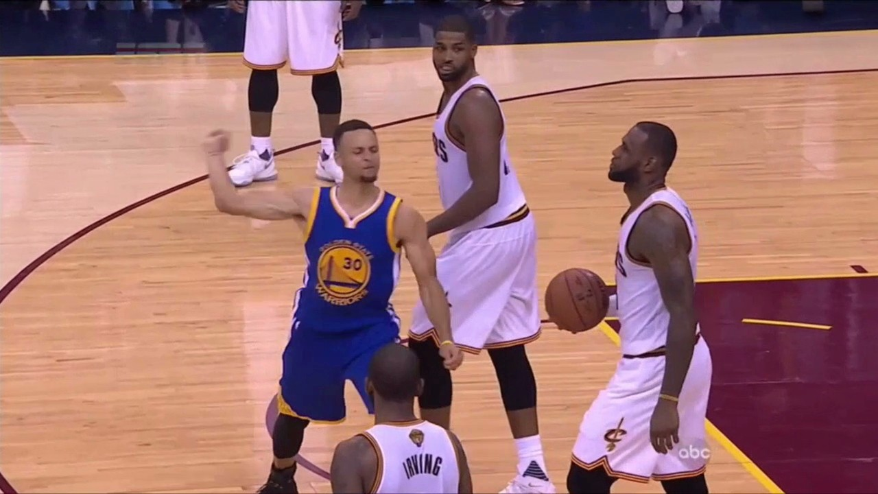 Steph Curry Throws Mouthpiece and Hits Fan and Gets Ejected as Cavs Force Game 7