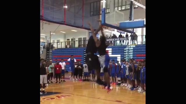Victor Oladipo Dunks All Over Misguided Youth