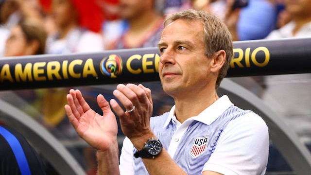 Jurgen Klinsmann Had Nothing to Lose by Keeping Silent About England