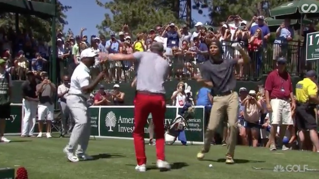 Steph Curry, Justin Timberlake and Alfonso Ribeiro All Do the Carlton, Jones BBQ Dance and Everything is Just Fine
