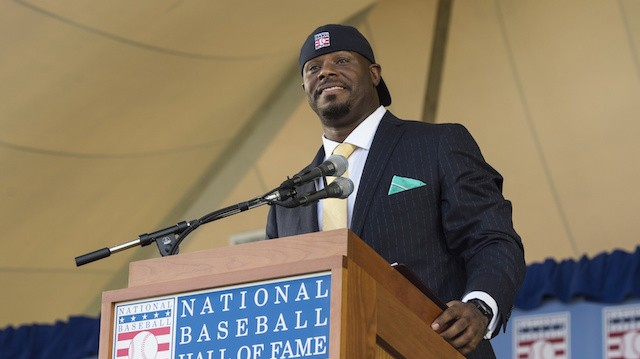 Ken Griffey Jr. Mic Drops His HOF Induction by Donning a Backwards Cap