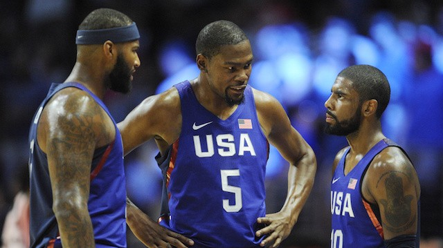 These Past Two US Men's Basketball Exhibition Games Are a Window into the Hurting They'll Put on the World
