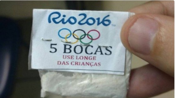 "Beware: ""Rio 2016"" Cocaine Is Not an Officially Sanctioned Olympic Product"