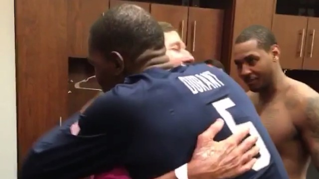 In Final Game Before Olympics, Team USA Has Hugs for Craig Sager and an Apology for Vanessa Carlton