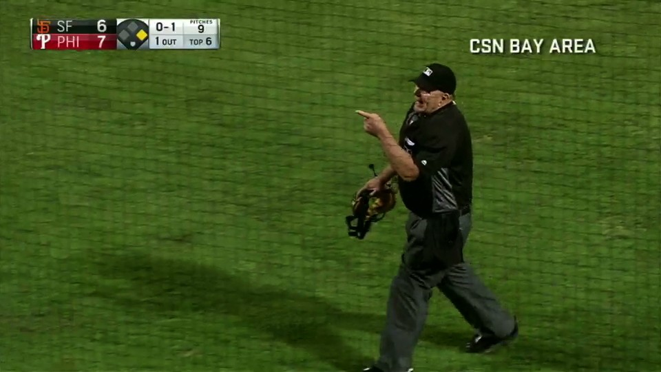 Umpire Ejects Heckler in Philly, Knows a 69 Reference When He Hears One