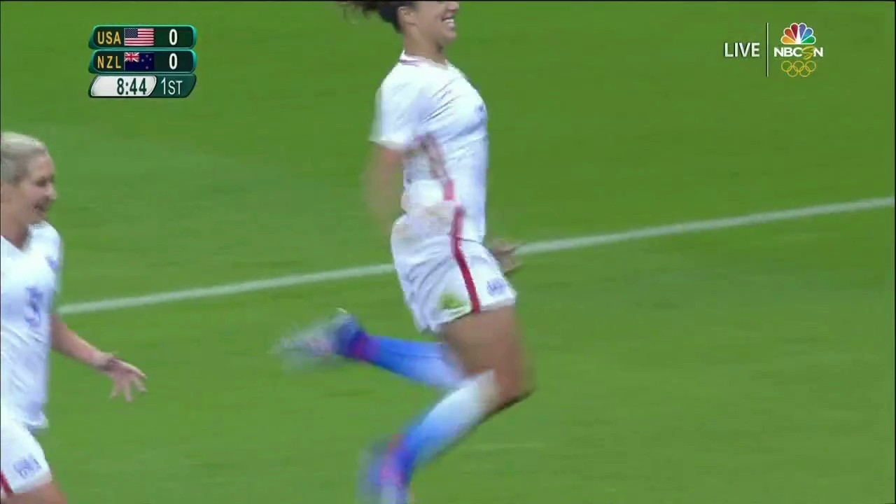 Carli Lloyd Continues to Dominate, Opens Scoring for USA in Rio Olympics