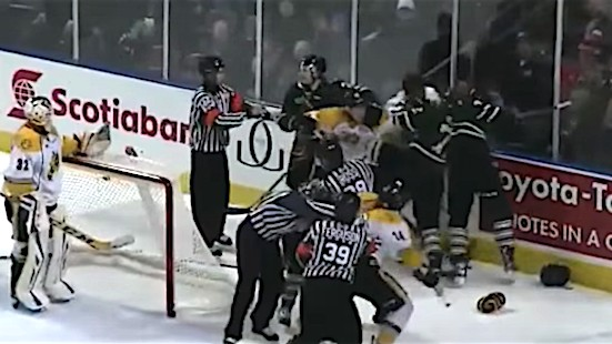 OHL Implements New Rules to Further Crackdown on Fighting