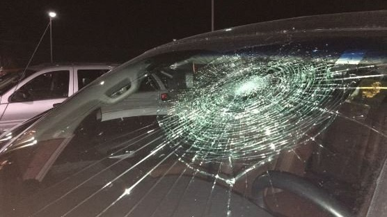Minor leaguer Smashes Own Windshield with Grand-Slam Ball