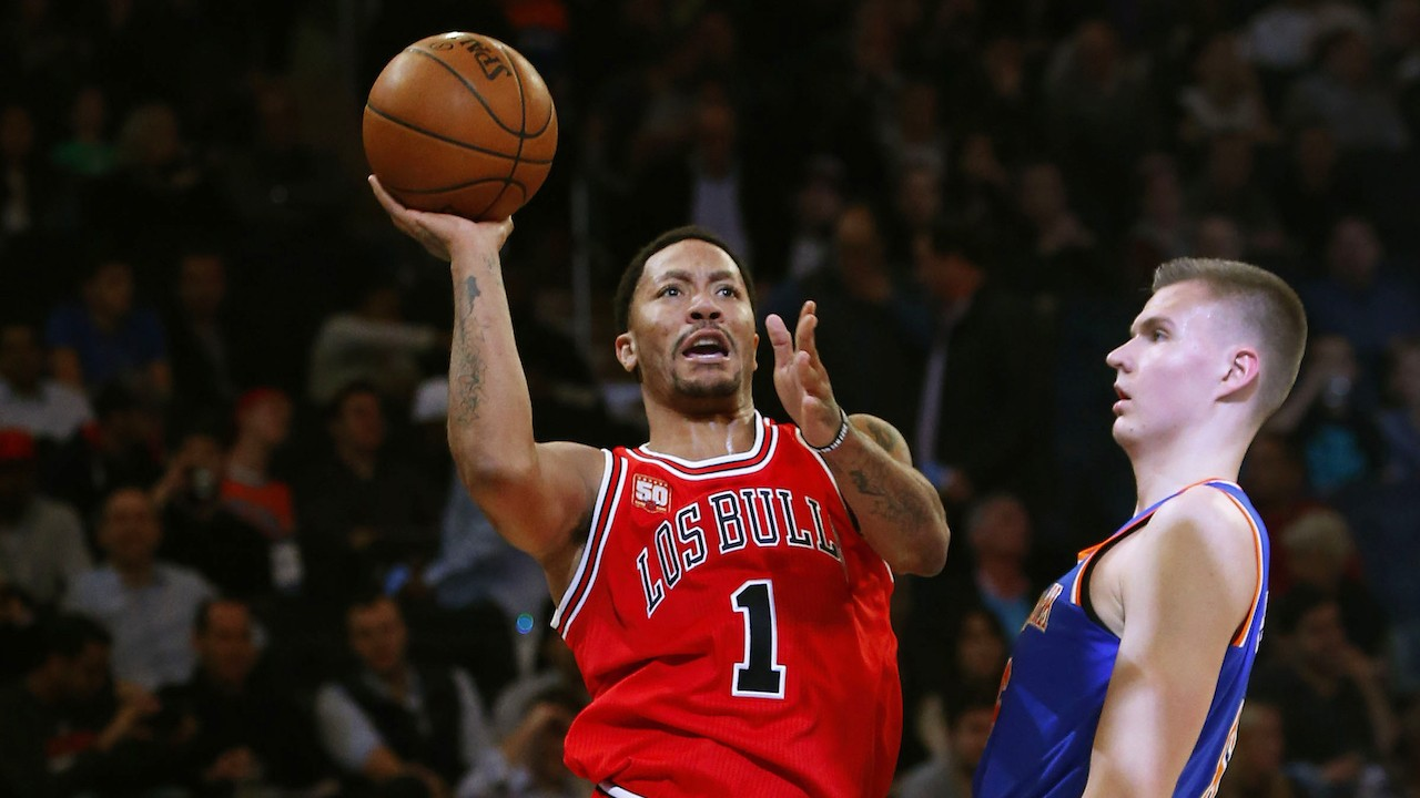 """""""A Chance to Win Every Game"""": Derrick Rose Is Fluent in Knick"""