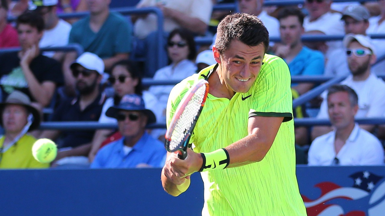 Bernard Tomic Said Some Pretty Filthy Things About His Balls to a U.S. Open Fan
