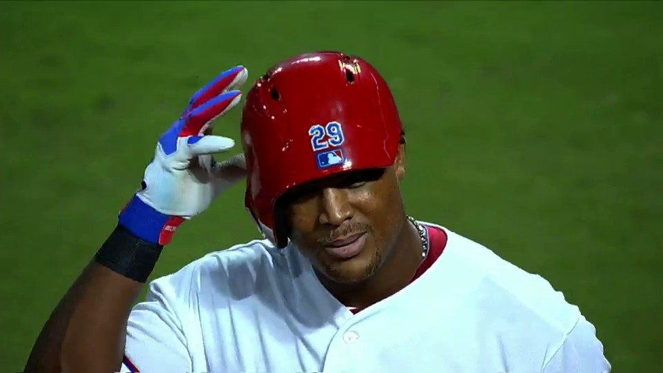 Adrian Beltre Wears Helmet Backwards, Pretends to Bat Lefty Against Switch-Pitcher Pat Venditte