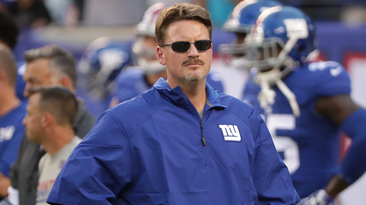 Giants HC Ben McAdoo Sees No Room for Nuance in Protesting National Anthem, Plenty in Spousal Abuse