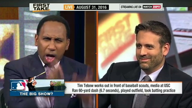 Stephen A. Smith Talks Tebow, Actually Makes Sense for Once