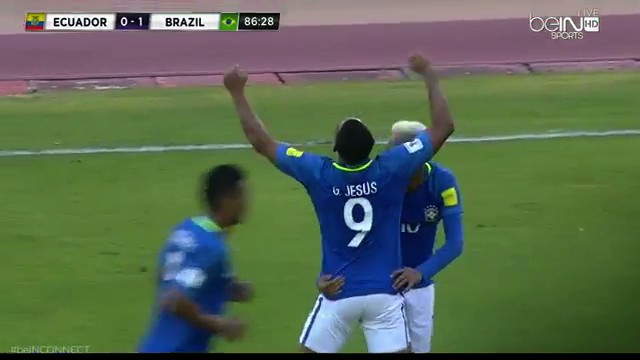 Gabriel Jesus Scores Twice as Brazil Begins to Right the Ship