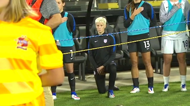 U.S. Soccer Goes All 'Murica on Megan Rapinoe Taking a Knee