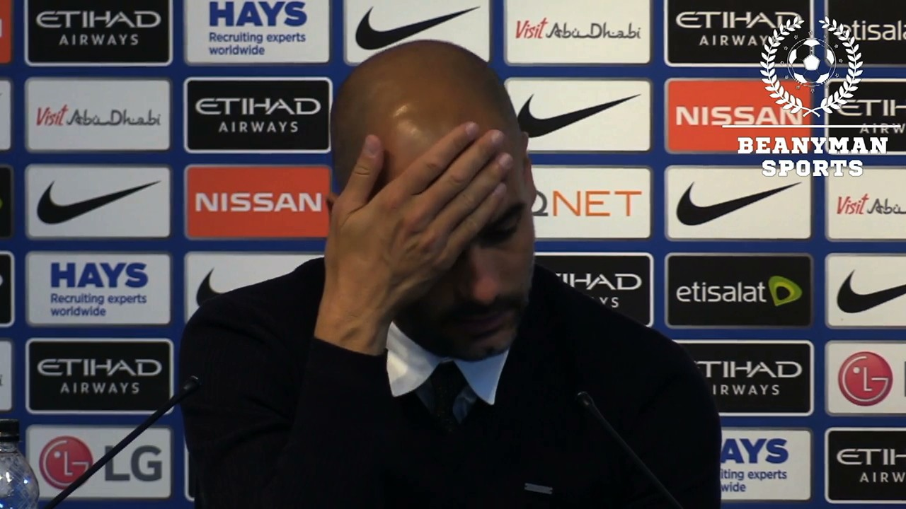 Pep Guardiola is Pissed at Reporters, Yaya Touré, and Basically Everyone Else in the World