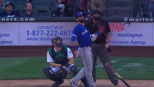 Jose Bautista Pimped the Shit out of Another Homer