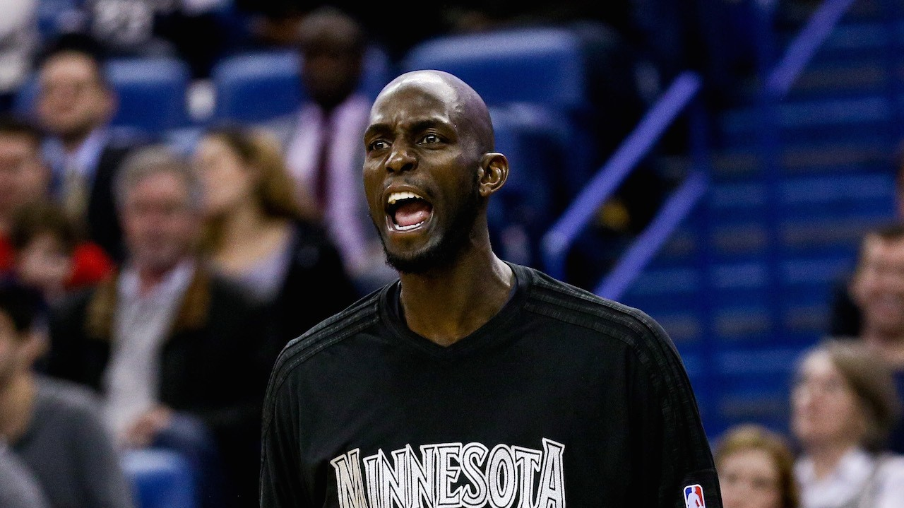 A Collection of Crazy-Ass Stories about Crazy-Ass Kevin Garnett