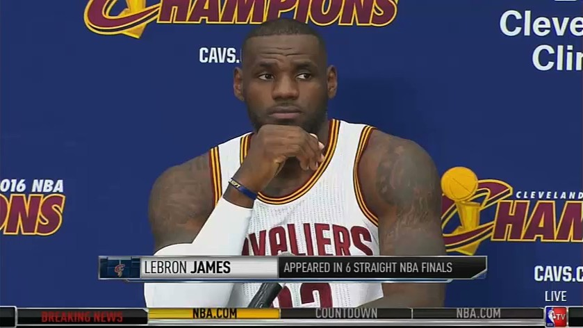"LeBron on Police Shootings: ""It's a Scary-Ass Situation"""