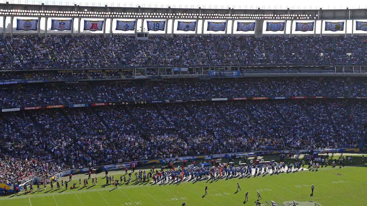 ​San Diego Mayor Endorses Ballot Measure for Chargers' New Stadium Funding