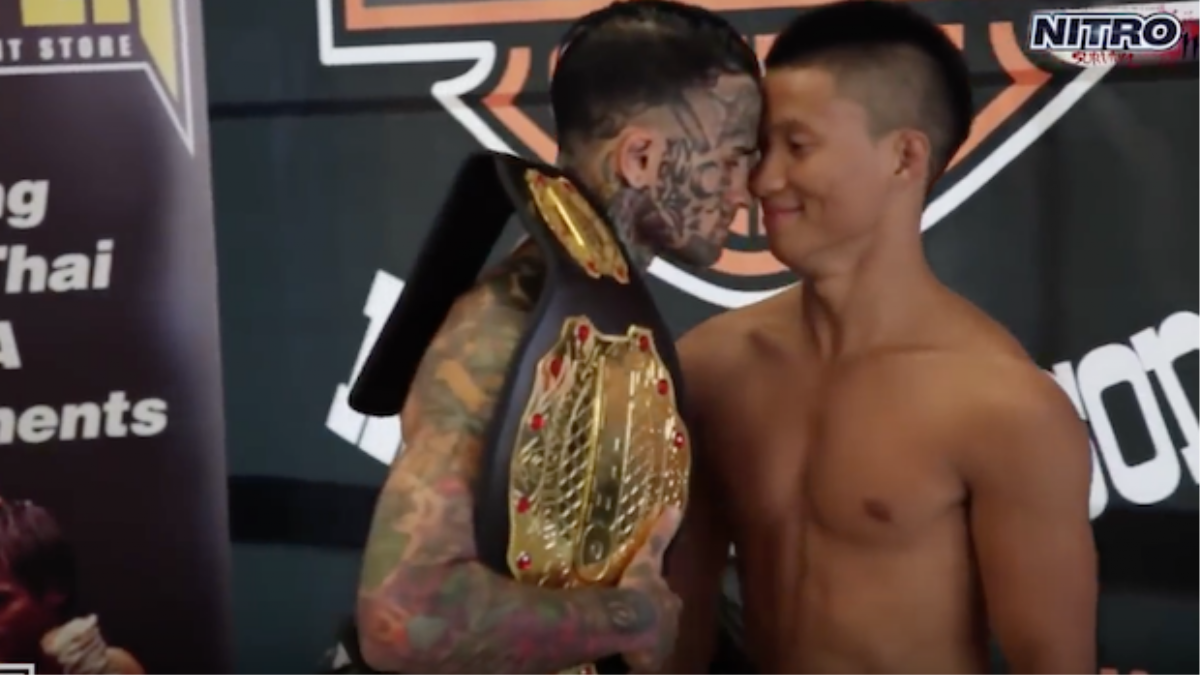 f300ecbb2 That Aussie MMA Fighter With The Face Tatts Is Now Also A Wife Beater. '