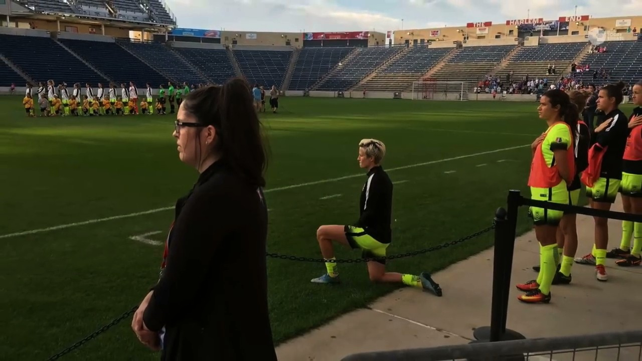"""I Have to Do Something"": Megan Rapinoe Explains Why She is Kneeling for the National Anthem"
