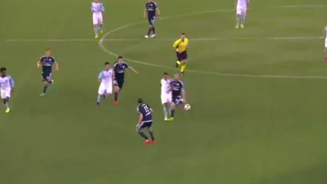Tim Cahill Laces In a Screamer from Distance in Australia Debut