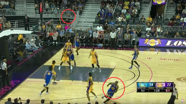 Kevin Durant Pulls a No-Look Three in Warriors Preseason—Start Getting Scared
