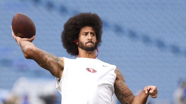 Colin Kaepernick Showed Up to His First Start of the Season Wearing a Muhammad Ali Shirt