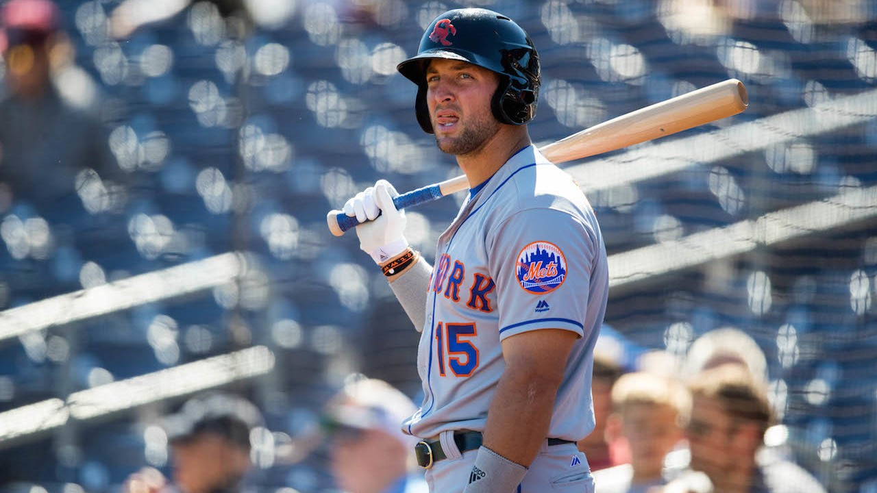 Tim Tebow (Allegedly) Gets First Fall League Hit