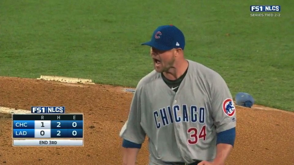 Jon Lester Handles Dodgers Shenanigans to Bring Cubs Within Game of World Series