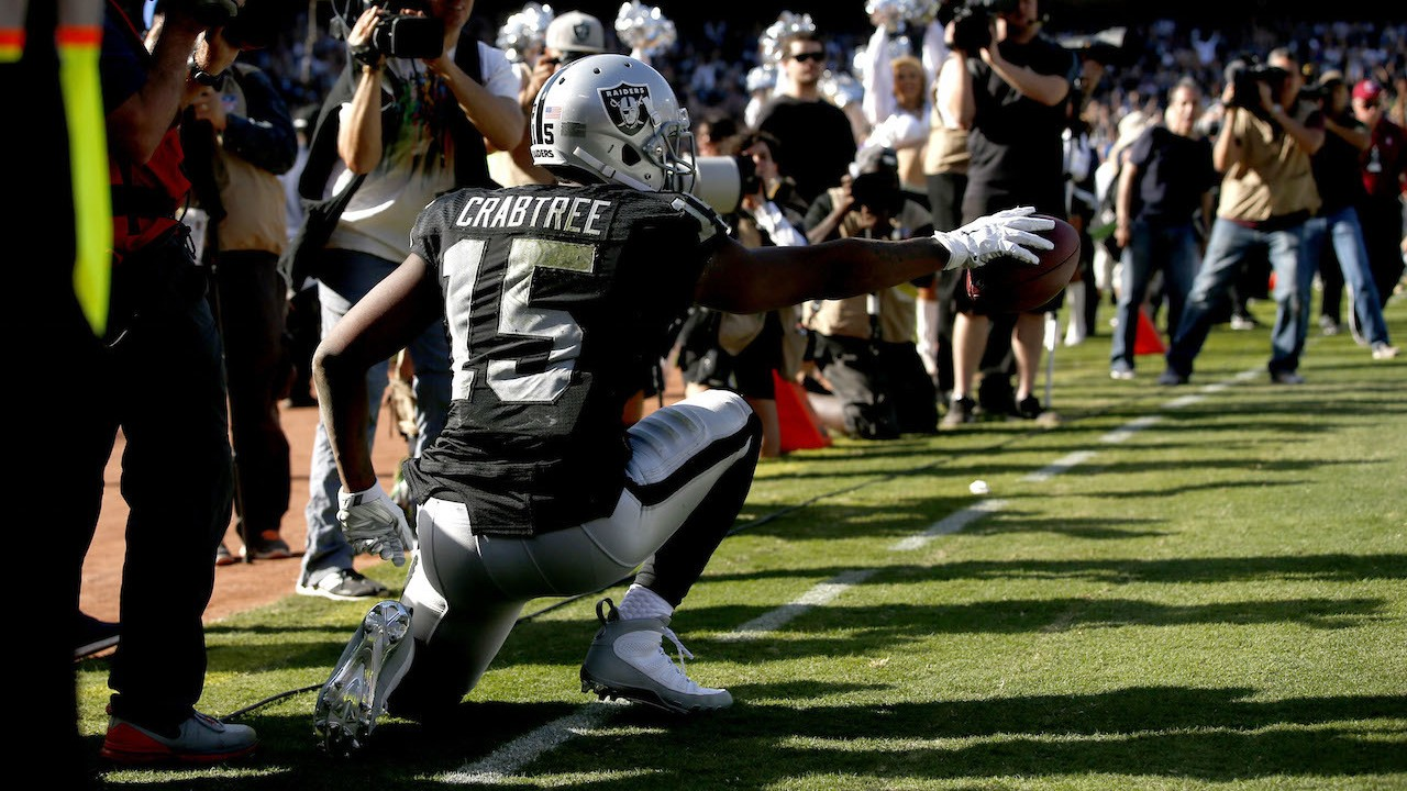 Michael Crabtree is Going to Fight to Save His Kenny Powers TD Celebration