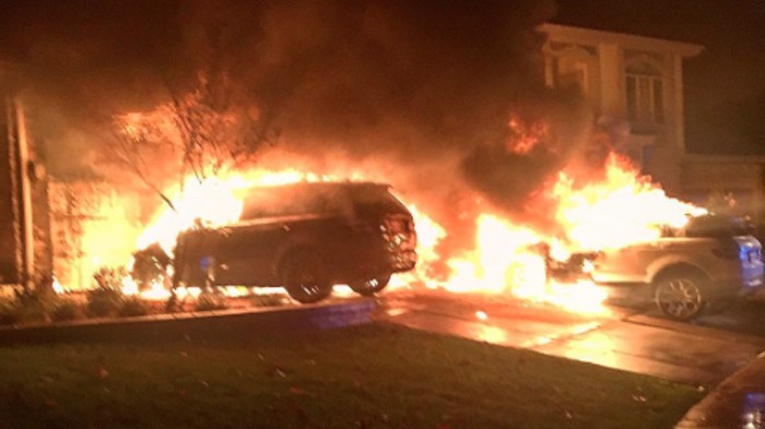 Three of Anthony Pettis' Cars Were Set on Fire Outside His Home in Milwaukee