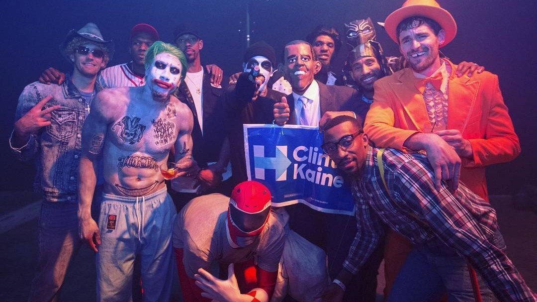lebron's halloween party was the coming back from down 3-1 of