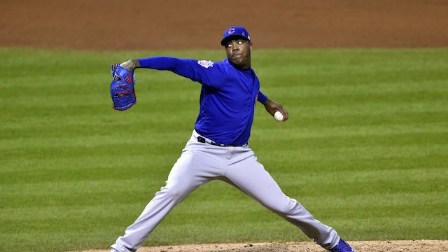 What is Aroldis Chapman Going to Have Left for Game 7?
