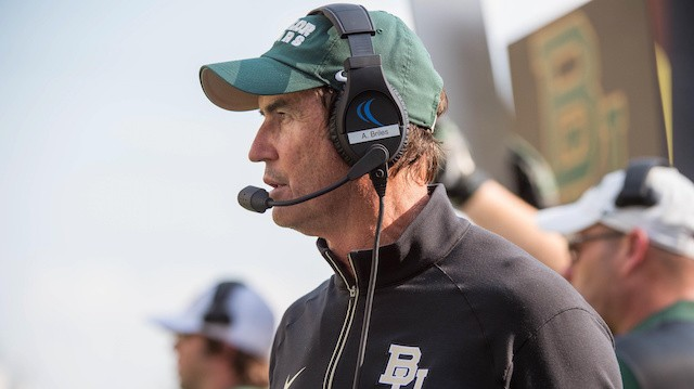 Baylor Players Say Their Blackout Jerseys Are Not In Protest of Art Briles' Firing