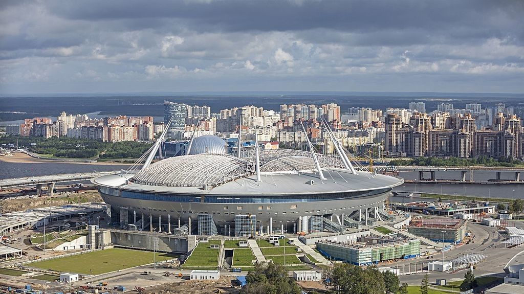 ​Russian Official Charged with Stealing Money from World Cup Stadium Project