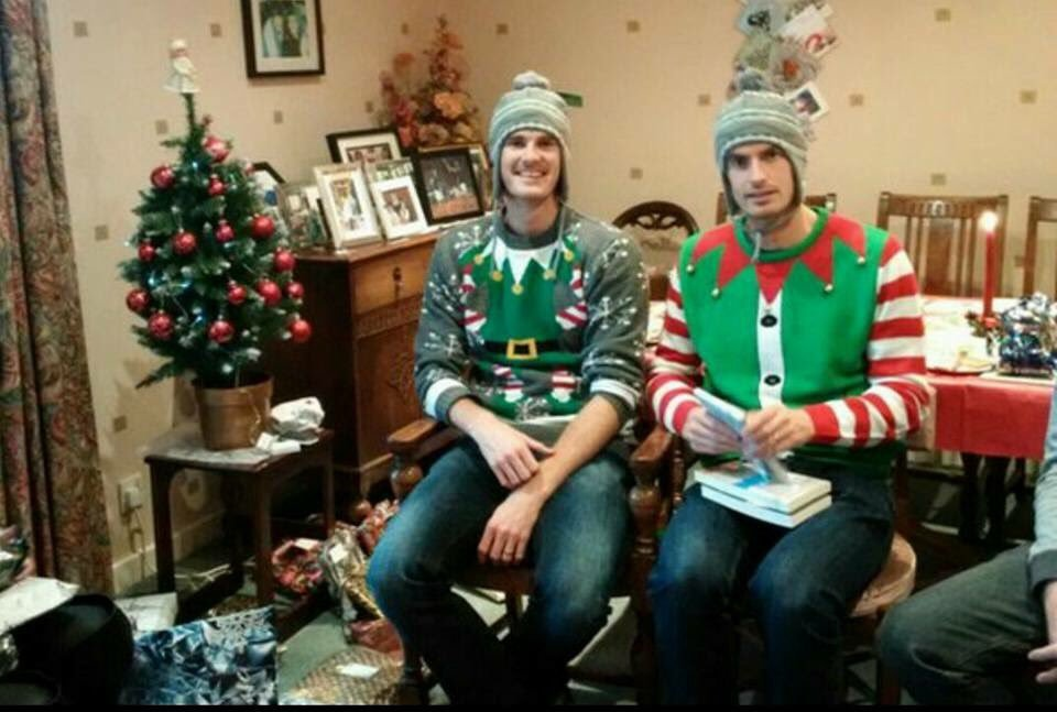 murray christmas brothers andy and jamie are atop the tennis world vice sports