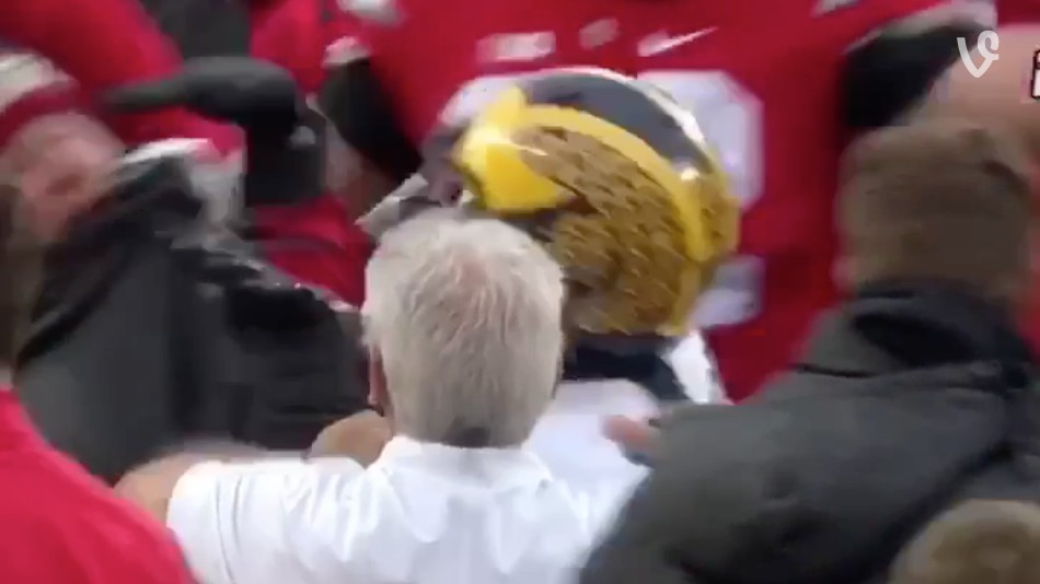 Jabrill Peppers Shoved An Ohio State Fan After Michigan's Loss