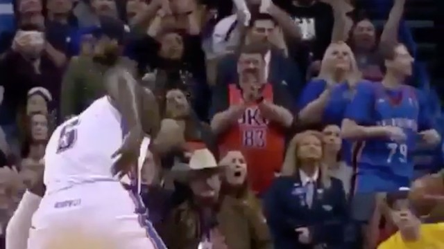 Assketball Alert: Oladipo Celebrates By Slapping His Own Butt After Drilling a Jumper
