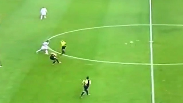 Not a Drill: Alejandro Camargo's Two-Thirds Field Length Volleyed Golazo Is Legit One Of The Craziest Goals Ever