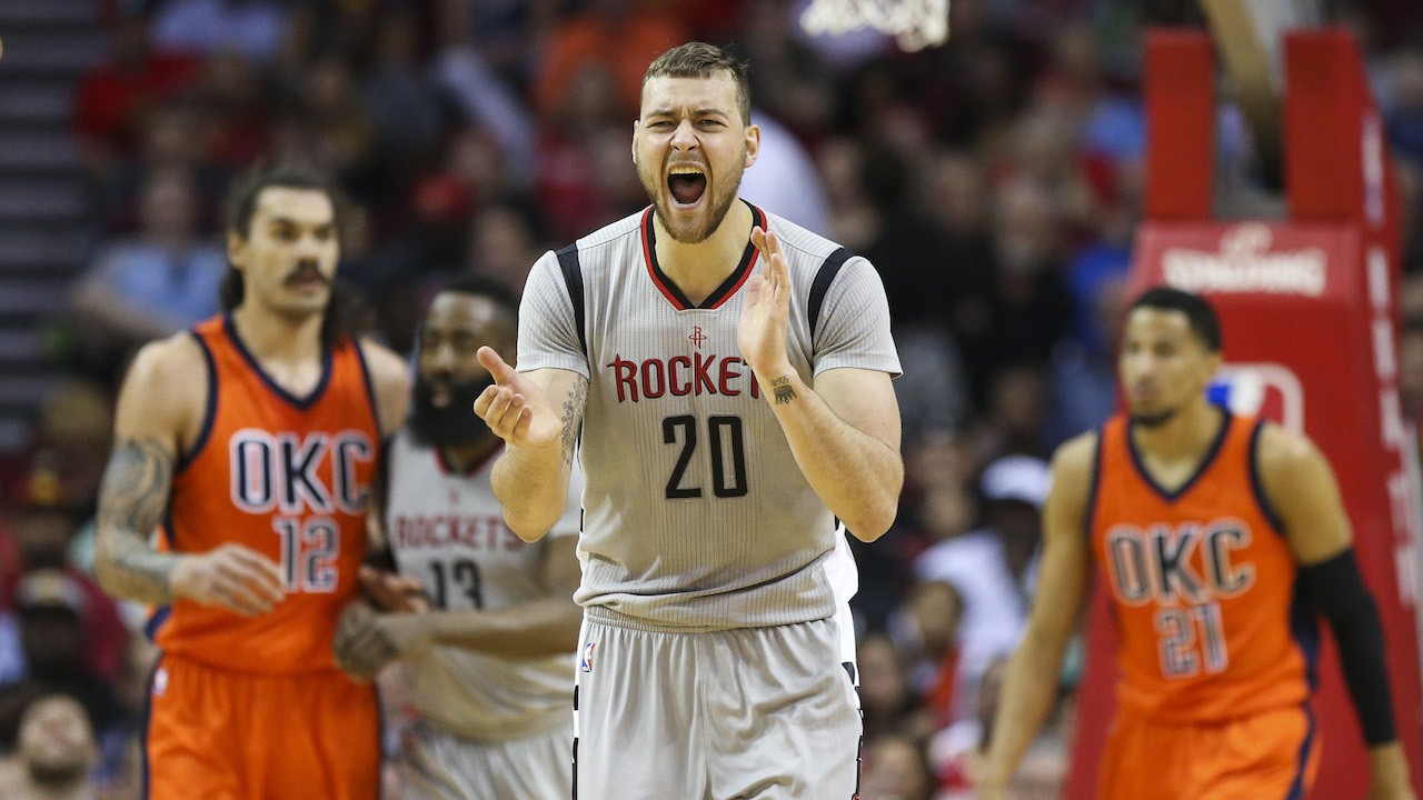 Donatas Motiejunas Not Reporting to Rockets Because of $6 Million Difference in Contract