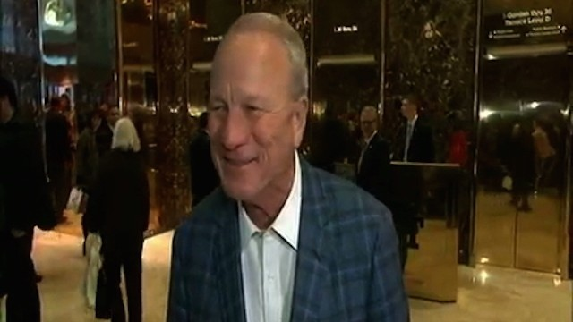 Former Oklahoma and Dallas Cowboys Coach Barry Switzer Visits Donald Trump, for Some Reason