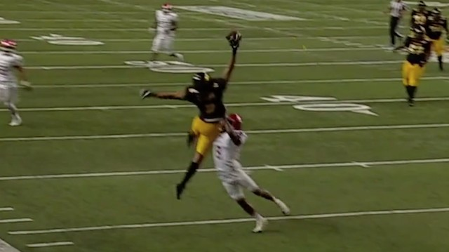 All The Respect in the World to This Grambling One-Handed Catch That Didn't Count